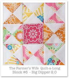 Farmer's Wife Quilt-a-Long - Block 6 | Flickr - Photo Sharing!