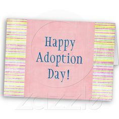 12 best adoption cardsgifts images on pinterest adoption gifts happy adoption day card m4hsunfo