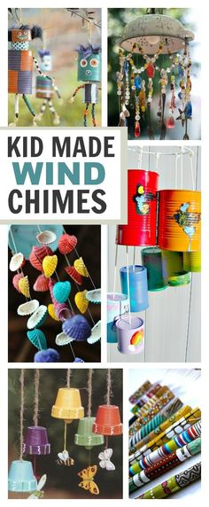 Wind Chime Crafts for Kids | Growing A Jeweled Rose