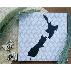 New Zealand map pinboard