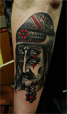 Awesome combination between red and gray in this tattoo. #tattoo #tattoos #ink #inked