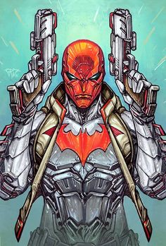 Red Hood/Arsenal #2 by Paolo Pantalena *