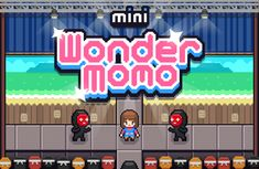 Mini Wonder Momo - Freelance HTML5 Game