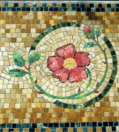 Beautiful mosaic from St Dominic's in NY