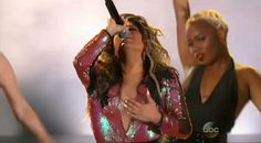 Ally Brooke performing Work From Home at the BBMA'S