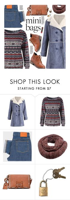 """""""So Cute: Mini Bags"""" by beebeely-look ❤ liked on Polyvore featuring PS Paul Smith, Louis Vuitton, Burt's Bees, casual, Sweater, casualoutfit, minibags and gamiss"""