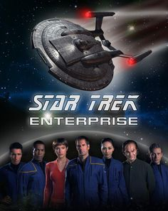 Posted by SF Series and Movies  Star Trek Enterprise poster