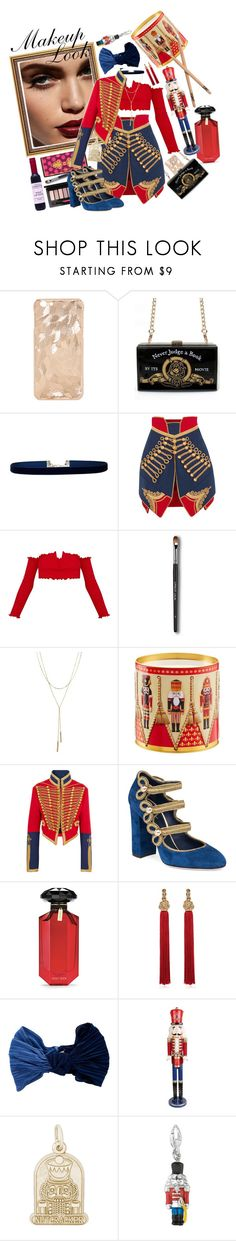"""""""Nutcracker In a Nutshell"""" by nessacarissa ❤ liked on Polyvore featuring Lulu in the Sky, Burberry, Bloomingdale's, Dolce&Gabbana, Victoria's Secret, Yves Saint Laurent, Eugenia Kim, Jeco and Rembrandt Charms"""