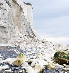 Coastal erosion, White cliffs of Dover | UK Shore Blog