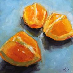 "Daily+Paintworks+-+""Juicy+Fruit""+-+Original+Fine+Art+for+Sale+-+©+Susan+Galick"