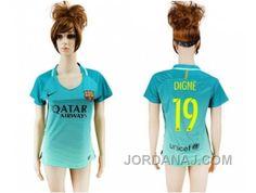 http://www.jordanaj.com/womens-barcelona-19-digne-sec-away-soccer-club-jersey.html WOMEN'S BARCELONA #19 DIGNE SEC AWAY SOCCER CLUB JERSEY Only 18.40€ , Free Shipping!