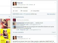 Preta Gil também participa da campanha contra violência doméstica (Foto: Reprodução / Internet)