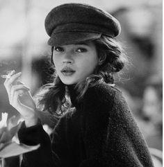 Kate Moss. Sailor Cap. Enough said.