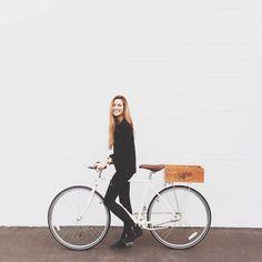 Cassie Geibel   Bike: Linus   www.linusbike.com   http://cassiegeibel.vsco.co   Source: https://instagram.com/p/wpLnD4huLN