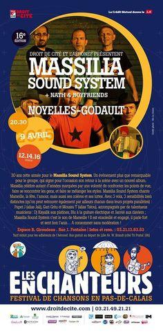 """North Unity: FESTIVAL LES ENCHANTEURS. """"MASSILIA SOUND SYSTEM"""" ..."""