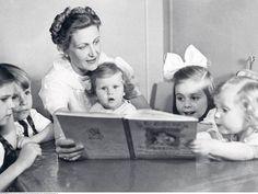 High Quality picture of Helga, Helmut, Magda, Hedda, Hilde & Holde Goebbels.