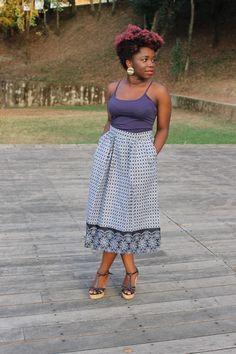 Saia Preta/Branca Summer Dresses, Fashion, African Textiles, Black, Women's, Outfits, Moda, Fashion Styles, Fasion