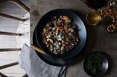 Double Mushroom & Kale Farro Recipe on Food52 recipe on Food52