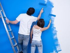 painting our house together