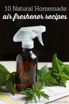 10 all-natural homemade air freshener recipes using essential oils. I'm not buying those nasty plugins anymore!