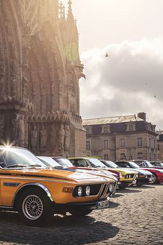 #BMW 3.0 CSL #ClassicCar www.pinterest.com/quirkyrides