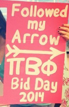 Pi Beta Phi- Followed my arrow! #piphi #pibetaphi (Villanova)