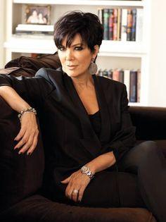Kris Jenner Addresses Kim Kardashian's Divorce With Fellow EP Ryan Seacrest - kurzhaarfrisuren Cabelo Kris Jenner, Chris Kardashian, Kardashian Jenner, Kardashian Family, Kardashian Style, Short Hair Cuts For Women, Short Hair Styles, Kris Jenner Haircut, Kris Jenner Hairstyles