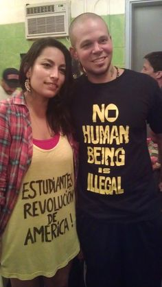 Ana Tijoux and Rene from Calle 13