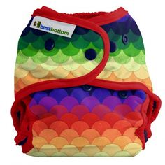 Dragon Scales, Best Bottom Snap Shells, AI2, Cloth Diapers