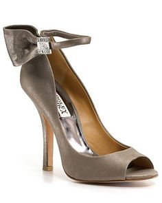 """Bagley Mischka """"Sublime""""   Love the color.  And ankle straps are the BEST accessory there is on a shoe!!!!"""