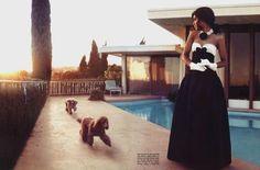 Kerry Washington 5 Steamiest Love   Kerry Washington for Vogue Italia July 2012.