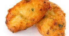 Fabulosa receta para Croquetas de atún. Unas croquetas de atún que les encantan a todos y para las que no es necesario elaborar bechamel.  Vídeos: Croquetas de atún