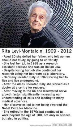 An amazing women