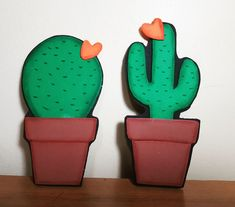 Cactus, Make It Yourself, Pasta, Instagram, Birthday, Disney, Feltro, Fimo, Birthdays