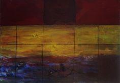 No Name Acrylic on canvas By Lijda Zuijderduijn #art #abstract #artist #artgallery #artforsale
