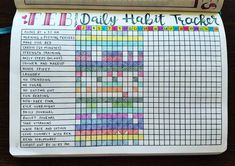 "1,778 Likes, 83 Comments - Micah (@my_blue_sky_design) on Instagram: ""Daily Habit Tracker Spread - February 2017 Apparently, I need to read for fun more often. But I'd…"""