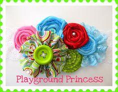 Playground Princess Headband by AppelillysGoodies on Etsy, $10.00