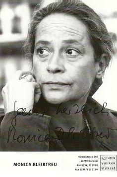 Monica Bleibtreu (* 4. Mai 1944 in Wien; † 13. Mai 2009 in Hamburg) war eine österreichische Schauspielerin, Schauspieldozentin und Drehbuchautorin.