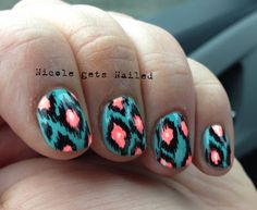 Nicole gets Nailed #nail #nails #nailart