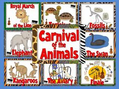 http://www.teacherspayteachers.com/Product/Carnival-of-the-Animals-Bulletin-Board-Set-1113326