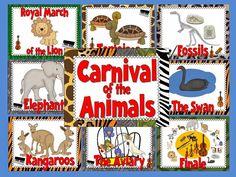 http://www.teacherspayteachers.com/Product/Carnival-of-the-Animals-Bulletin-Board-Set-1113326