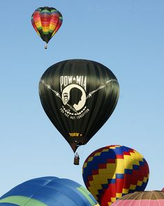 Freedom Flight, Inc. is a non-profit, educational corporation established in 1988, that seeks to honor and increase the awareness of P.O.W. /M.I.A. issues. The organization is made up of dedicated volunteers who give their time, talent and money to fly three POW/MIA hot air balloons at various events across America and the world.