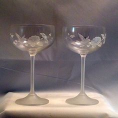 858cb134aa1ad1 Set of 6 Neman Glassworks 6Oz Hand Made Vintage Russian Crystal ...