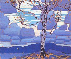 Birch tree - Lawren Harris