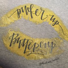 This hand-drawn and hand-lettered design, printed in shimmery liquid gold and black ink, adds a touch of Southern Sass to any outfit!  For more details on this exclusive Southern Girls Collection tee, click on the image to visit Feathered Nest Boutique's Etsy shop!