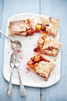 Stone Fruit Galette by tartelette