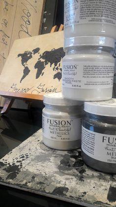Effetti materici con Fusion Mineral Paint