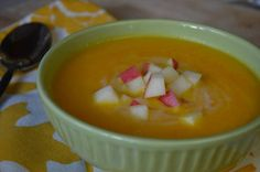 Carrot Apple Soup with Ginger and Lemon (SCD Friendly) | The Tasty Alternative