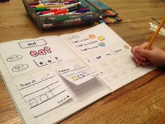 This interactive notebook provides a variety of ways for your students to practice their sight words. No more loose papers! Your students will have all their sight word work together in one place as a handy reference. Teaching Sight Words, Sight Word Games, Teaching Phonics, Teaching Reading, Kindergarten Language Arts, Kindergarten Literacy, Sight Word Activities, Writing Activities, Reading Centers