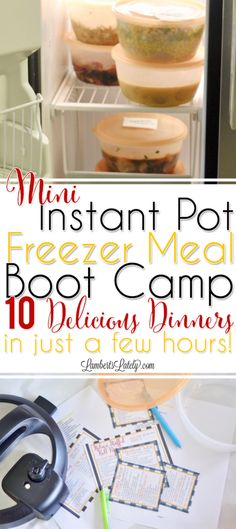 I think it's the understatement of the year to say that I had no clue how much attention the first edition of the Instant Pot Freezer Meal Boot Camp would get. Holy moly. Almost immediately, the post went viral on social media (namely in the Instant Pot Community on Facebook…hi to all of my visitors from there!). As of right now (about 2 months after they were first published), it is already the fifth most popular post on my blog. Ever. That's nuts, guys! Before I even published that…